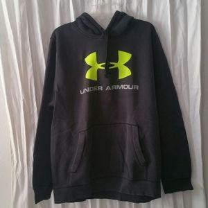 Under Armour black hoodie, xl